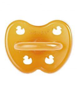 HEVEA symetrický dudlík Duck design, přírodní kaučuk