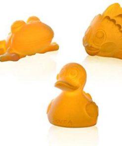 HEVEA hračky do vody Pond trio Giftset, přírodní kaučuk
