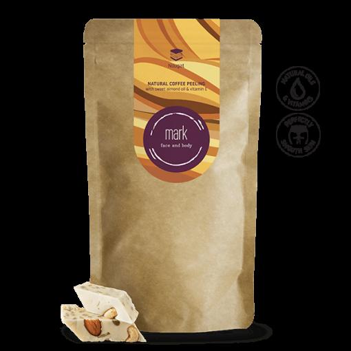 MARK coffee peeling, 100-200g – Nougat