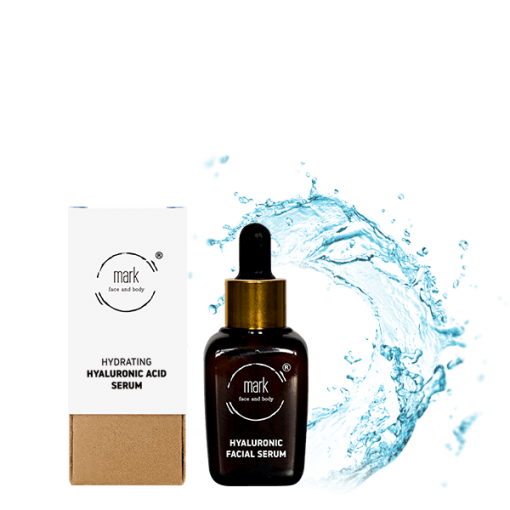 MARK Hyaluronic Acid Serum, 30 ml – s meruňkou, pro intenzivní hydrataci pleti