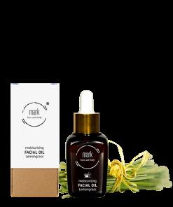 MARK organic oil Lemongrass, 30 ml – s meruňkou, hroznovým olejem a vitamínem E
